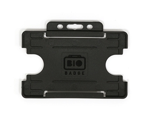 Picture of Bio Cardholder / carrying open face plastic black (horizontal / landscape)